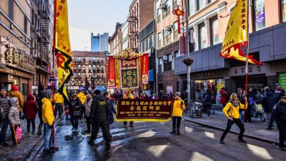 El emblemático Chinatown de Nueva York lucha contra el miedo al coronavirus