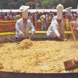 Cada año, en diciembre, se celebra en Pigüé la Fiesta de la Omelette por la ascendencia francesa de sus primeros habitantes.