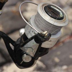 Para lograr largas distancias no sirven los reeles de poca capacidad de línea.