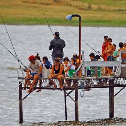 La pesca es otro de los grandes atractivos de la zona.