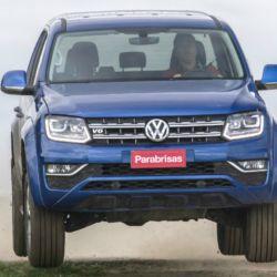 Parabrisas probó la pick-up VW Amarok con motor V6 de 224 CV.