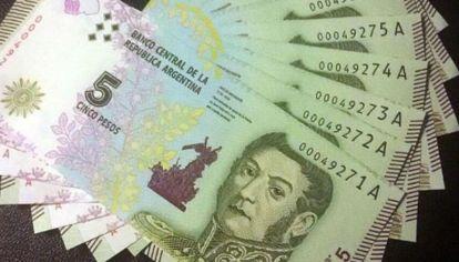 Se termina una era: desaparece el billlete de $5.