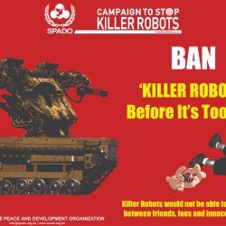 Según agrupaciones, el avance de las nuevas tecnologías aplicadas a la industria armamentística permitirá matar sin ningún tipo de control.