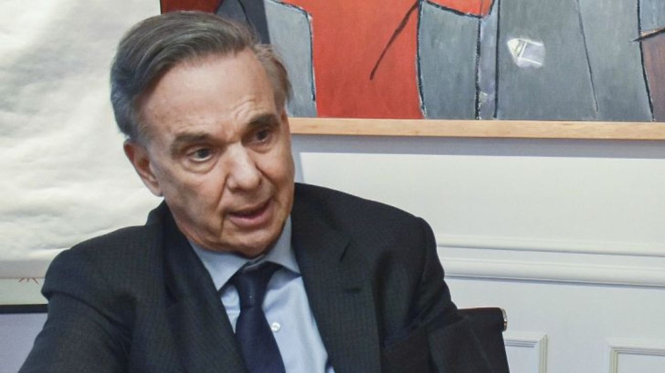 Miguel Ángel Pichetto, ex candidato a vicepresidente de Mauricio Macri.