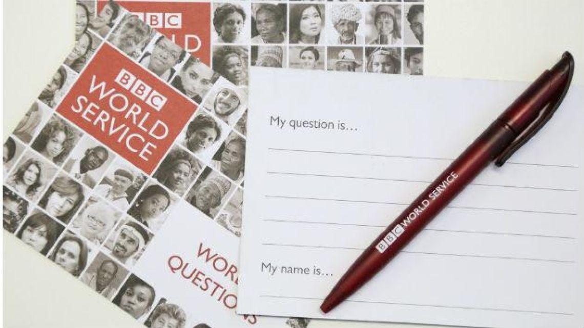 BBC World Service Question Card