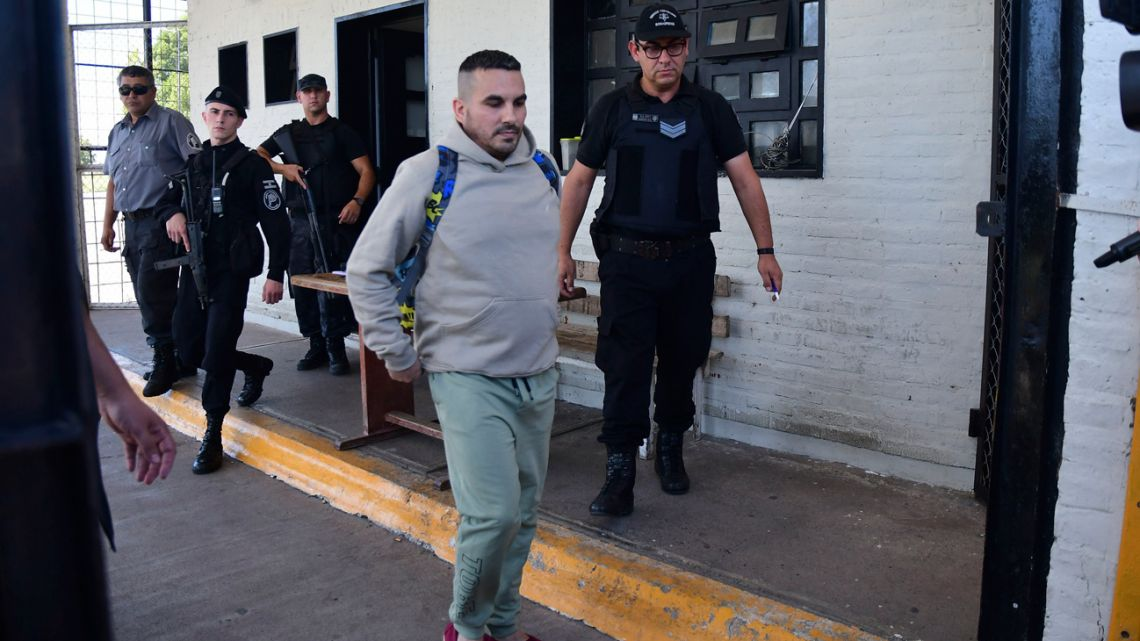Fabián Tablado, 43, walked out of Campana Penal Unit number 21 Friday, after serving the sentence.