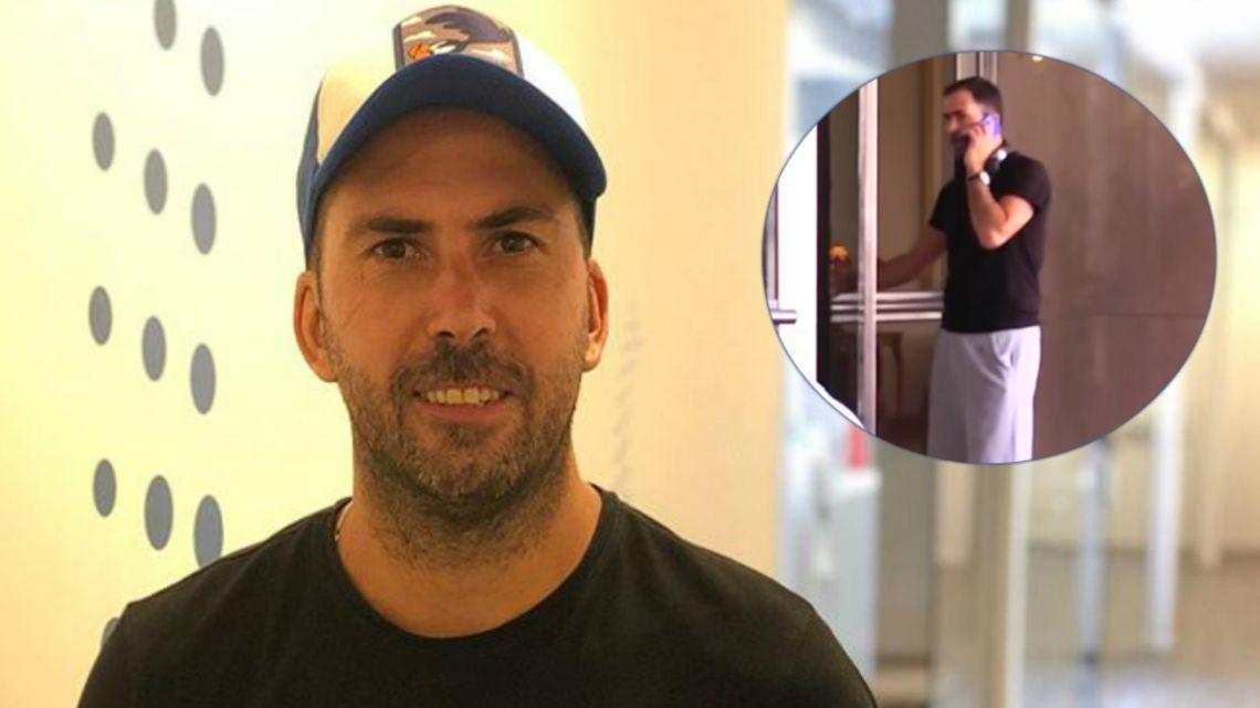 Martín Arévalo tuvo un blooper en la pantalla de Fox Sports