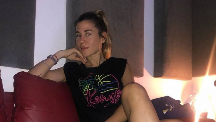 Jimena Barón cambió su look en plena cuarentena