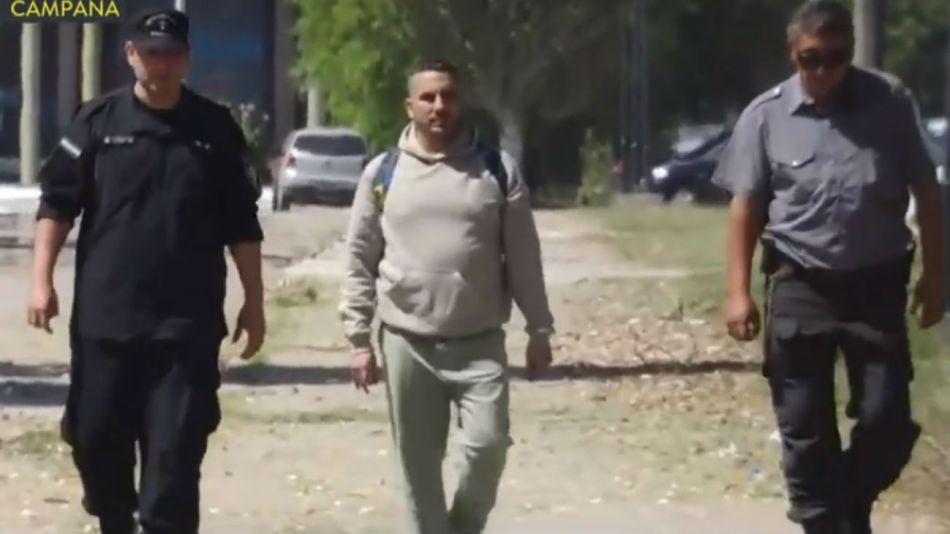 Fabián Tablado deja la Unidad 21 de Campana.