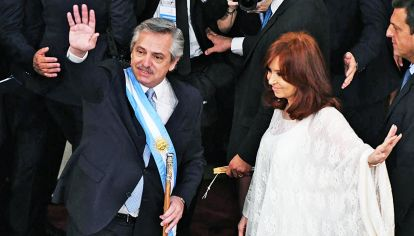 Asamblea. Como en su toma del mando, el 10 de diciembre pasado, Alberto vuelve al Congreso.