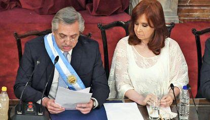 En el congreso, Alberto Fernández inaugura su primer ciclo de sesiones ordinarias parlamentarias.