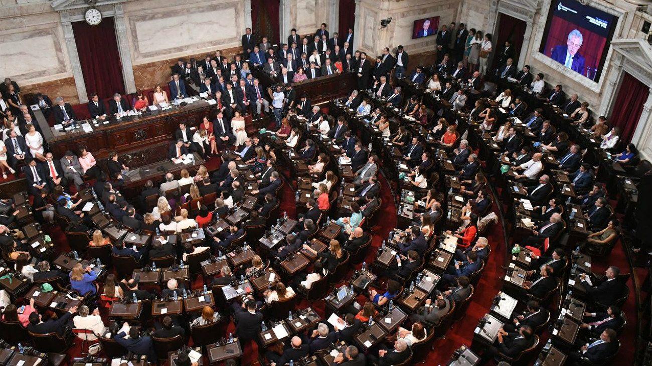 La vista de la Asamblea Legislativa.