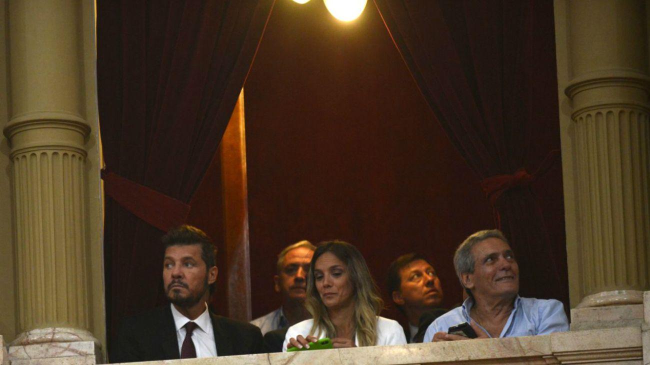 Tinelli, Pérez Esquivel y Moyano, entre los invitados de Alberto