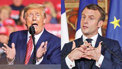 Geopolítica. Una firma estadounidense sería un guiño al apoyo de Trump. Pero desde Francia compite Rothschild, donde trabajó Macron.