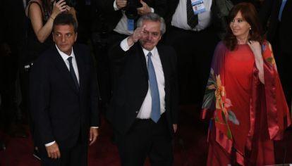 Alberto Fernández inauguró el período legislativo ordinario de 2020.