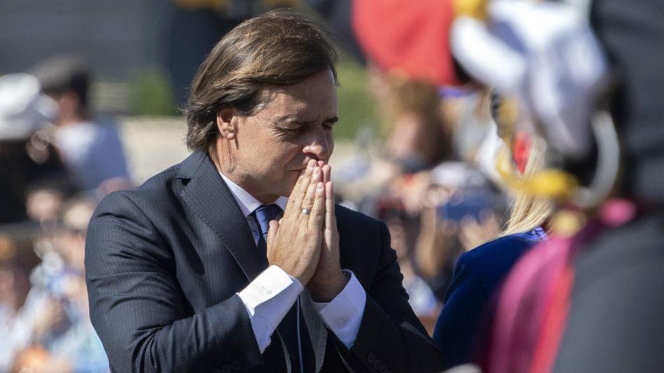 Asumió Lacalle Pou como presidente de Uruguay