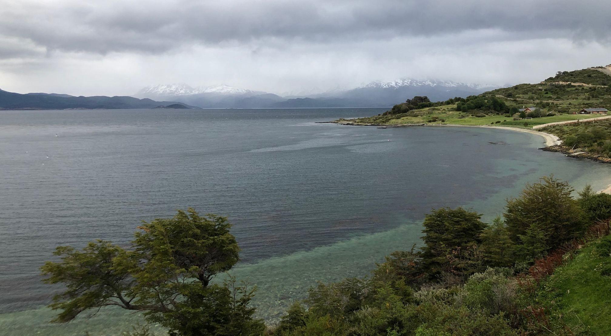 Ushuaia y sus vistas.