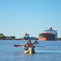 La travesía es una disciplina distinta que podemos conquistar en nuestros kayaks de pesca.