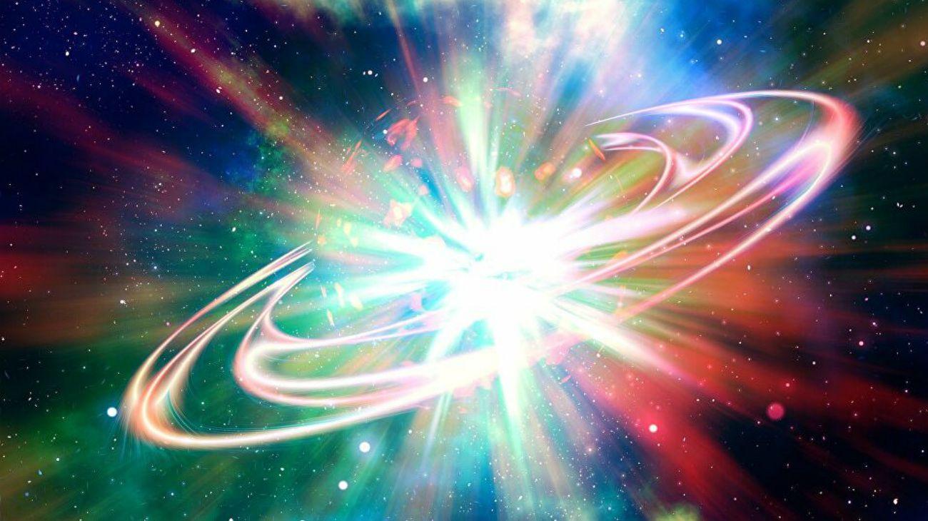 El estallido fue tan poderoso queperforó una cavidad en elplasmadel cúmulo de galaxias, la estructura más grande del universo unida por la gravedad.