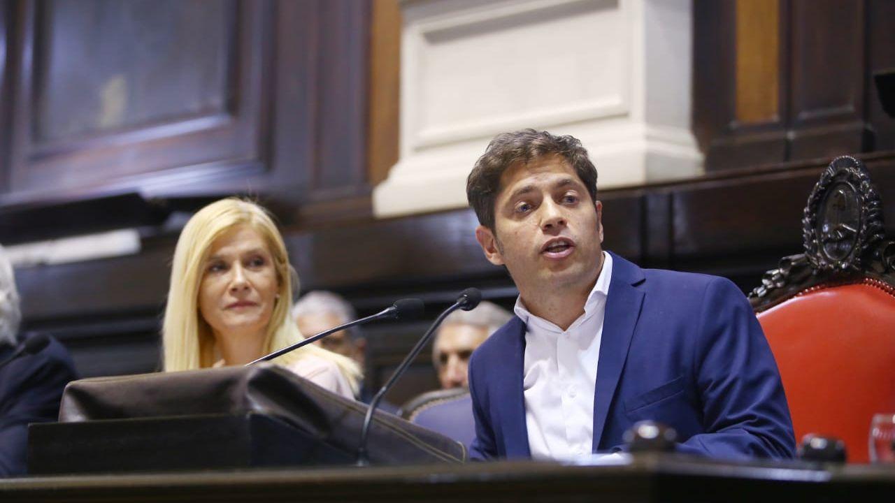 Kicillof abre las sesiones ordinarias. | Foto:Gobernación BA.