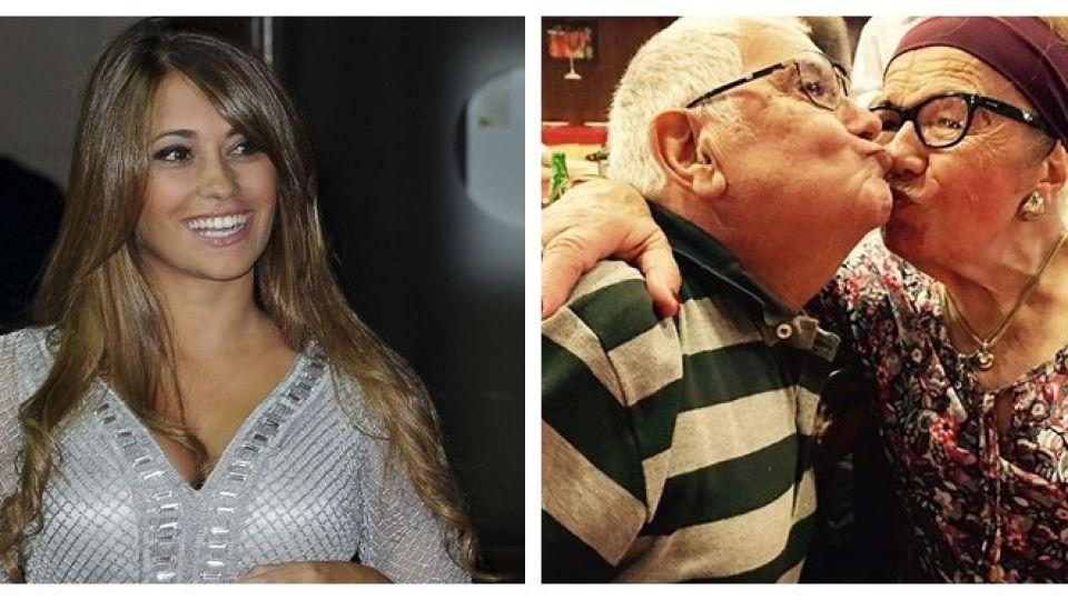 """Antonela Roccuzzo recordó a su abuelo fallecido: """"Amor eterno"""""""