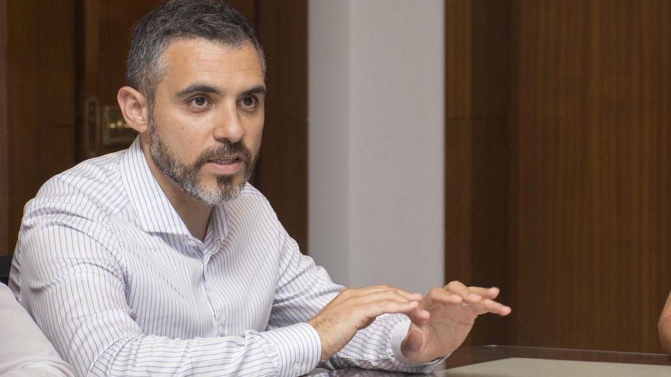 El titular de la Agencia de Recaudación de la provincia de Buenos Aires Cristian Girard.