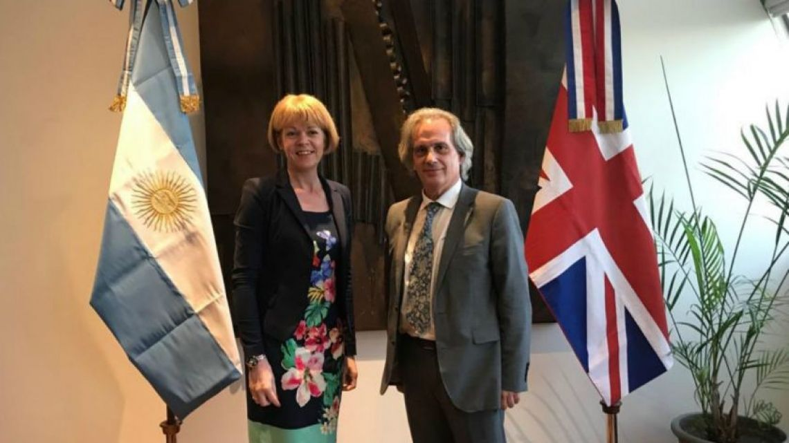 Wendy Morton, special envoy of Downing Street, will hold meetings with different government authorities to explore opportunities for bileteral cooperation.