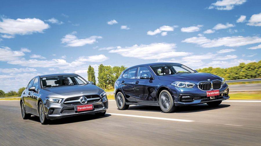 BMW 118i SportLine - Mercedes-Benz A 200 Progressive