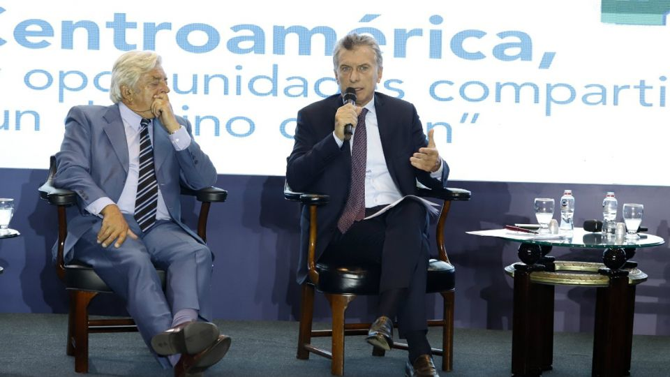 """Macri, en el """"V Encuentro Ciudadano Centroamérica"""", en Guatemala."""