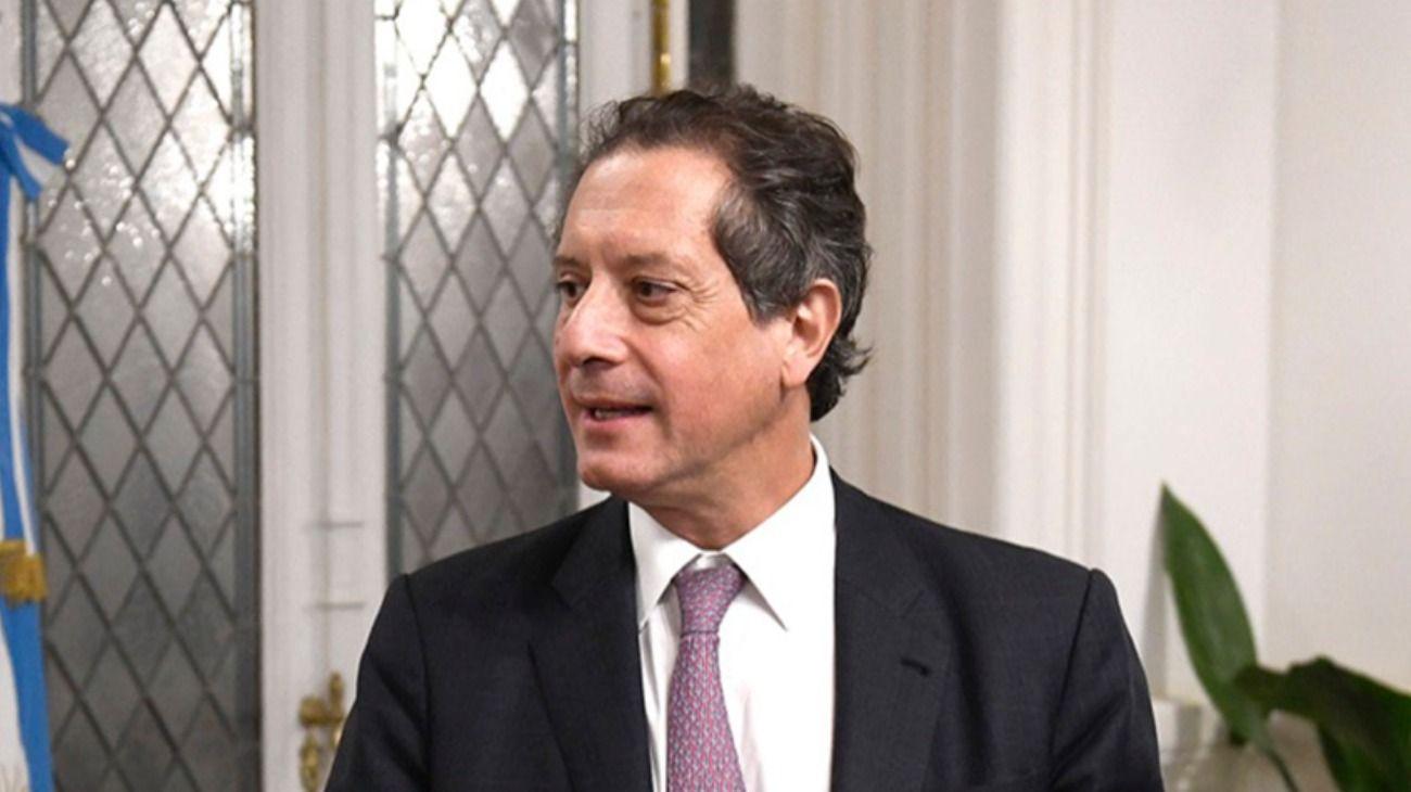 El titular del Banco Central, Miguel Ángel Pesce.