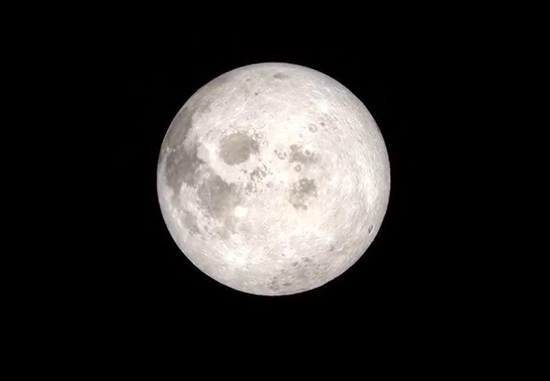 Las imágenes 4k que la NASA publicó de la Luna tomadas por el Apollo 13