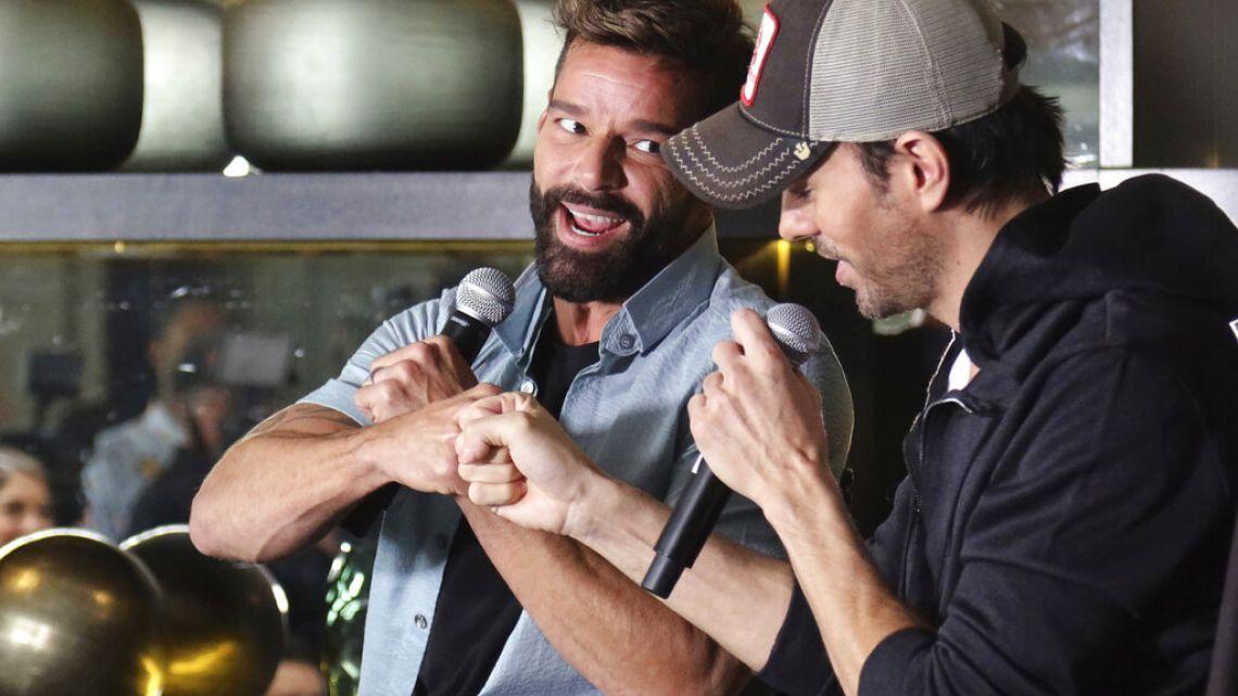 Ricky Martin y Enrique Iglesias se juntan para una gira de conciertos