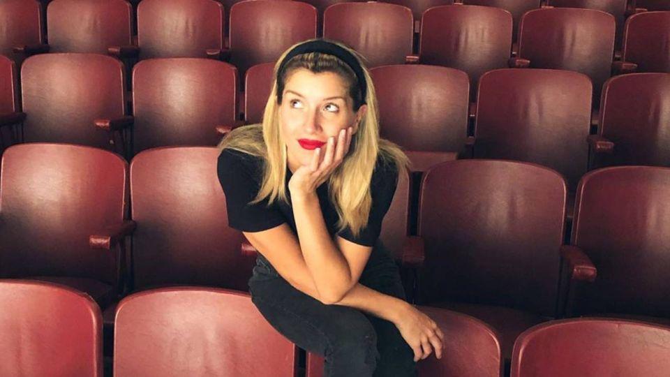 Laurita Fernández, emocionada en Nueva York
