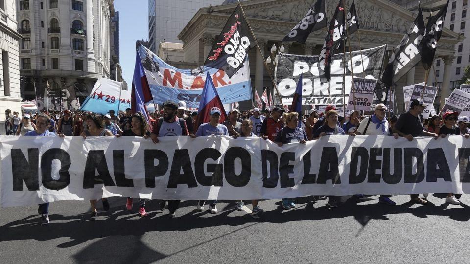 protesta polo obrero