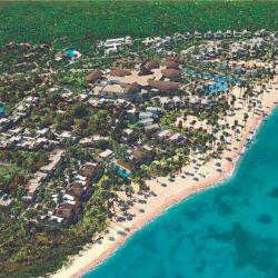 La playa Esmeralda en Miches estuvo casi virgen hasta la llegada de Club Med.
