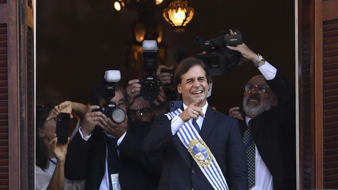 Luis Lacalle Pou es el presidente más joven del Uruguay posterior a la dictadura