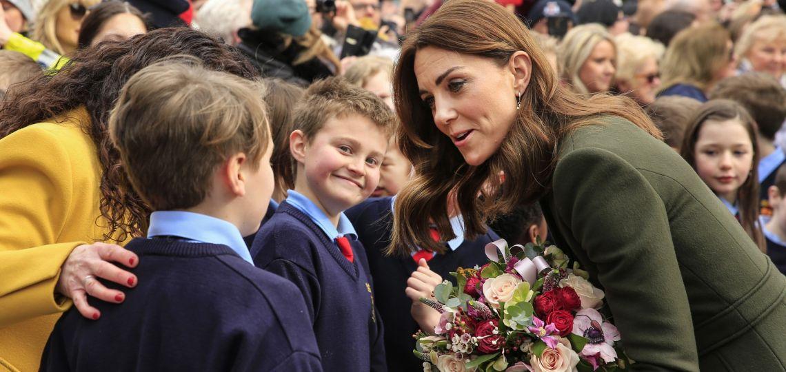 Kate Middleton se inspira en Lady Di para su última aparición pública