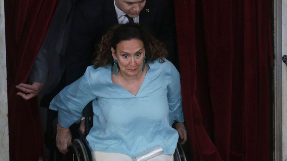 Former vice-president Gabriela Michetti.