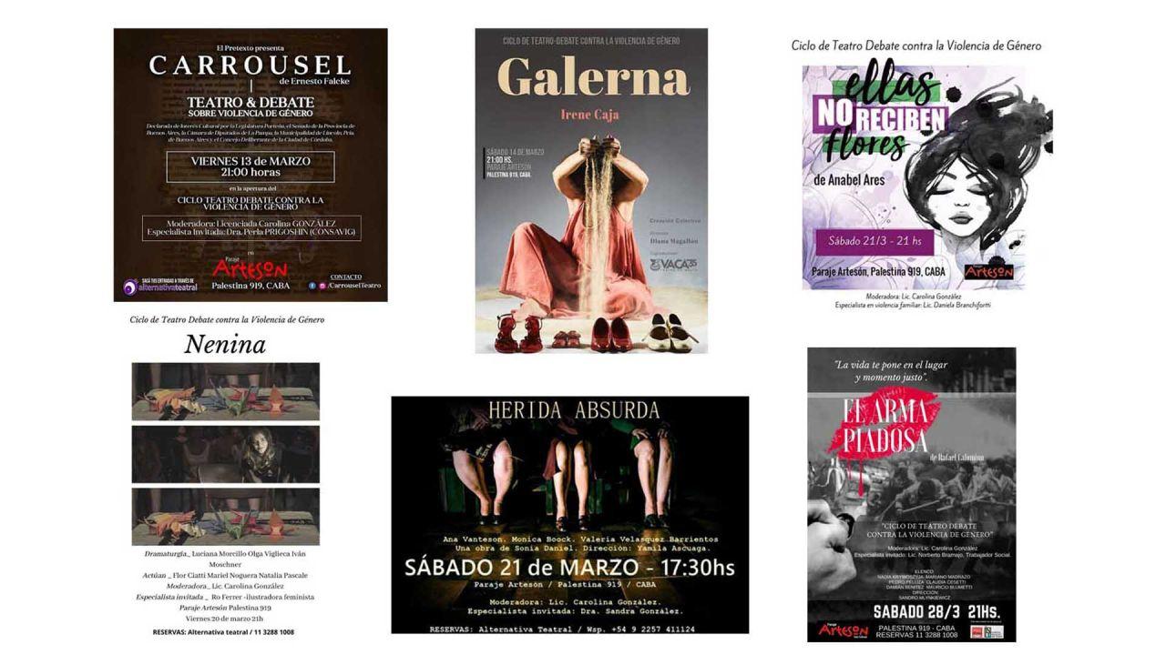 Obras de teatro | Foto:cedoc