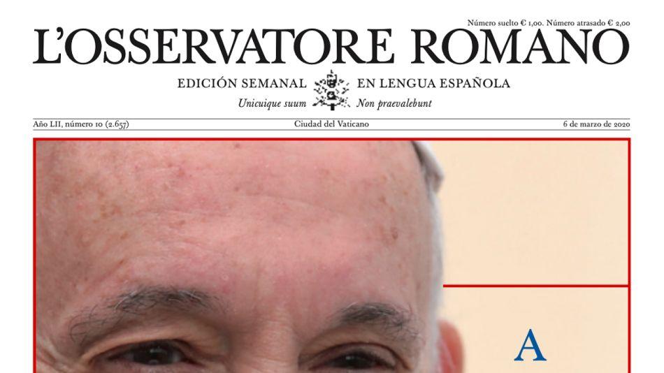 L'Osservatore Romano de esta semana.