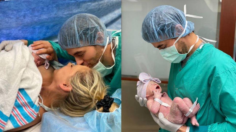 Enrique Iglesias revela el nombre de su nueva hija con Anna Kournikova