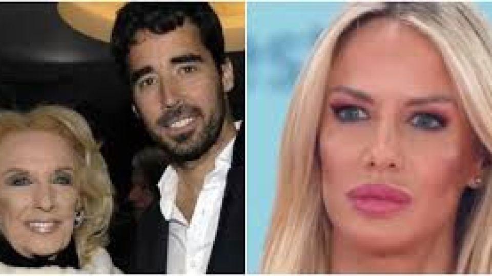 Nacho Viale, furioso con Luciana Salazar tras bajarse del programa de Mirtha