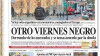 La tapa de Diario PERFIL del sábado 7 de marzo de 2020.