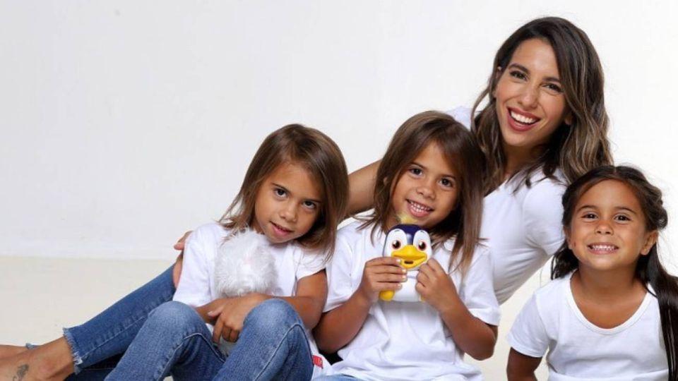 ¡Súper tiernas! El video de las hijas de Cinthia Fernández que revolucionó las redes