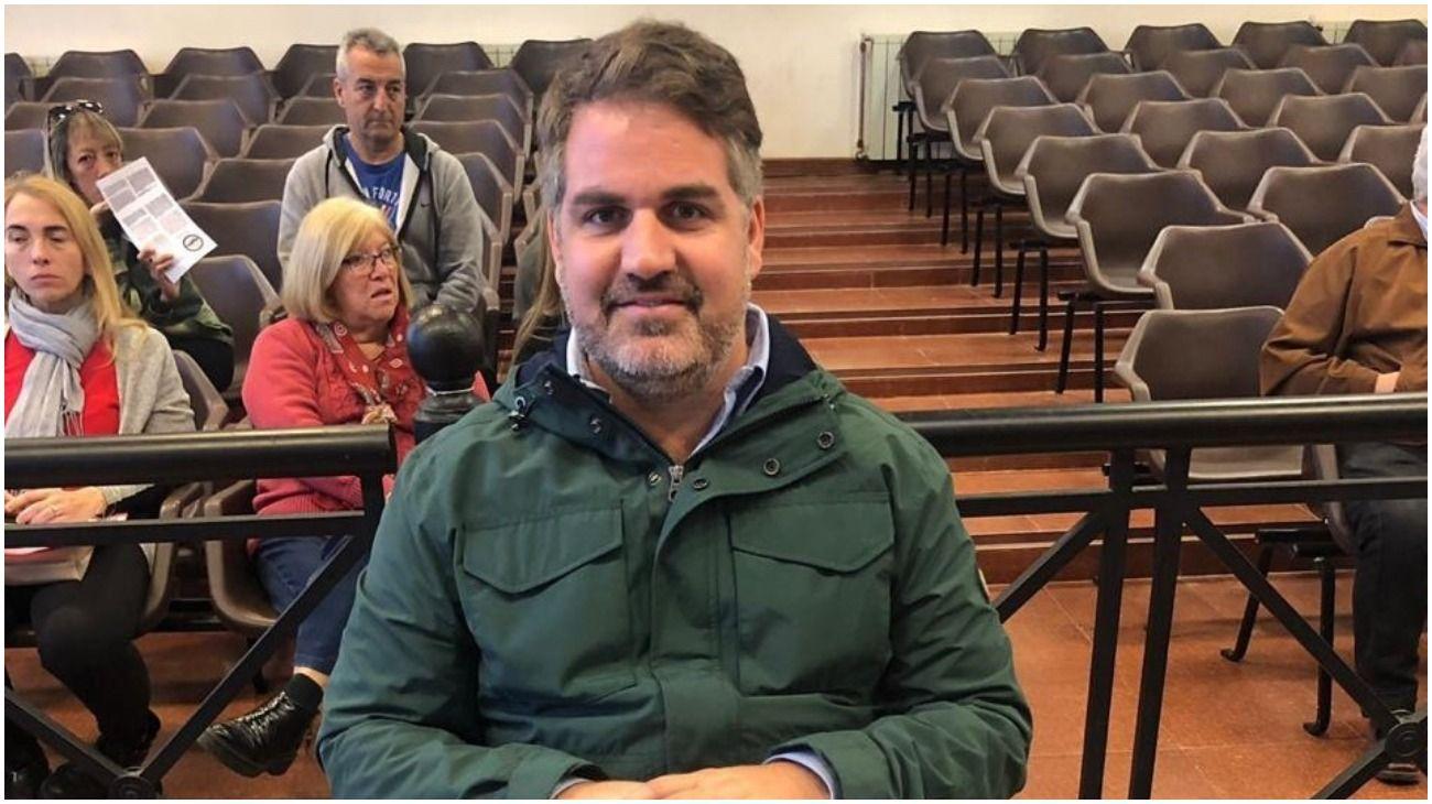Matías Casaretto, concejal de Juntos por el Cambio en Tigre.