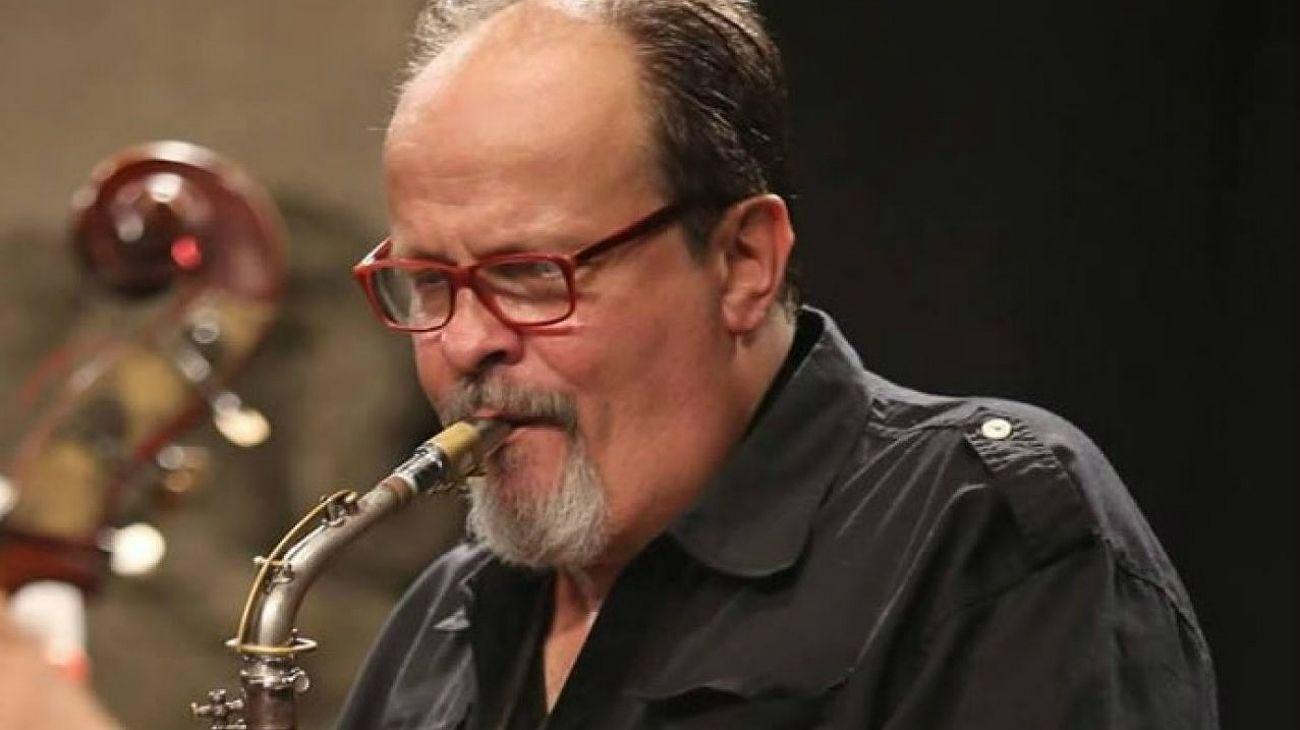 Marcelo Peralta, saxofonista argentino.