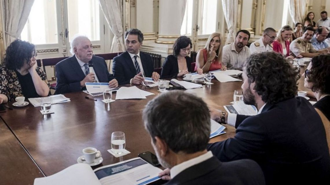 The cabinet will meet today after the 17th confirmed case was reported in Argentina.