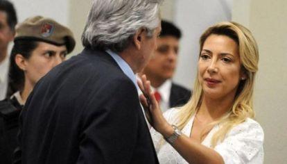 Fabiola Yáñez y Alberto Fernández