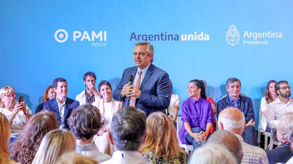 Alberto Fernández presenta la lista de medicamentos gratuitos 20200310