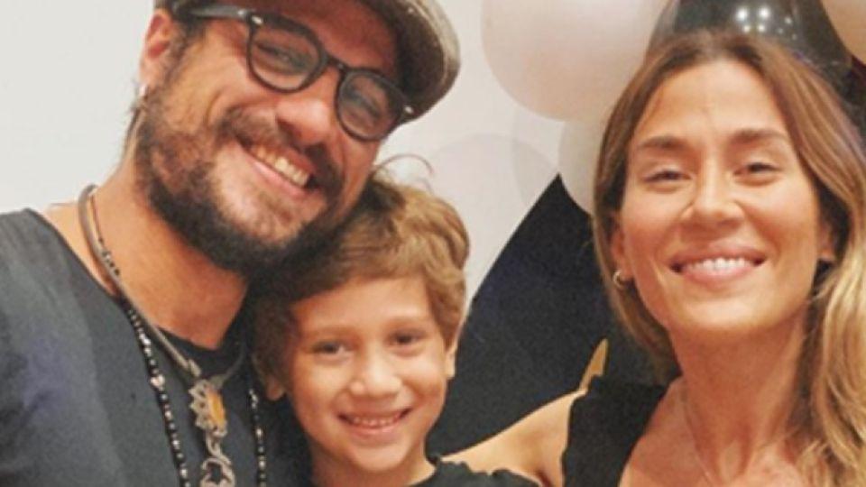 Jimena Barón y Daniel Osvaldo juntos por Momo